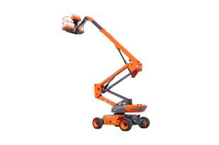 鼎力BA20ERT自行走曲臂式高空作业平台(电池驱动)
