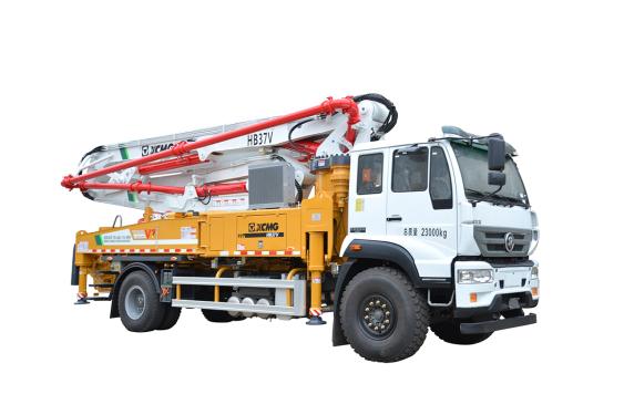 施维英HB37V(斯太尔)泵车高清图 - 外观