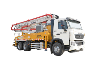 施维英HB39V(豪沃)泵车高清图 - 外观