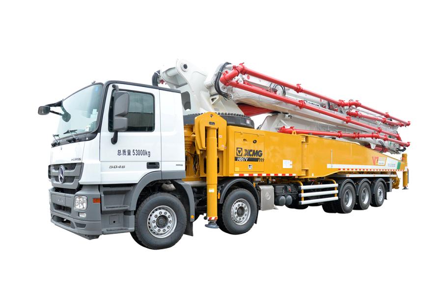 徐工HB67V(奔驰国五)泵车