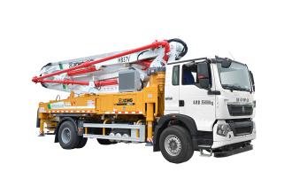 施维英HB37V(豪沃)泵车高清图 - 外观