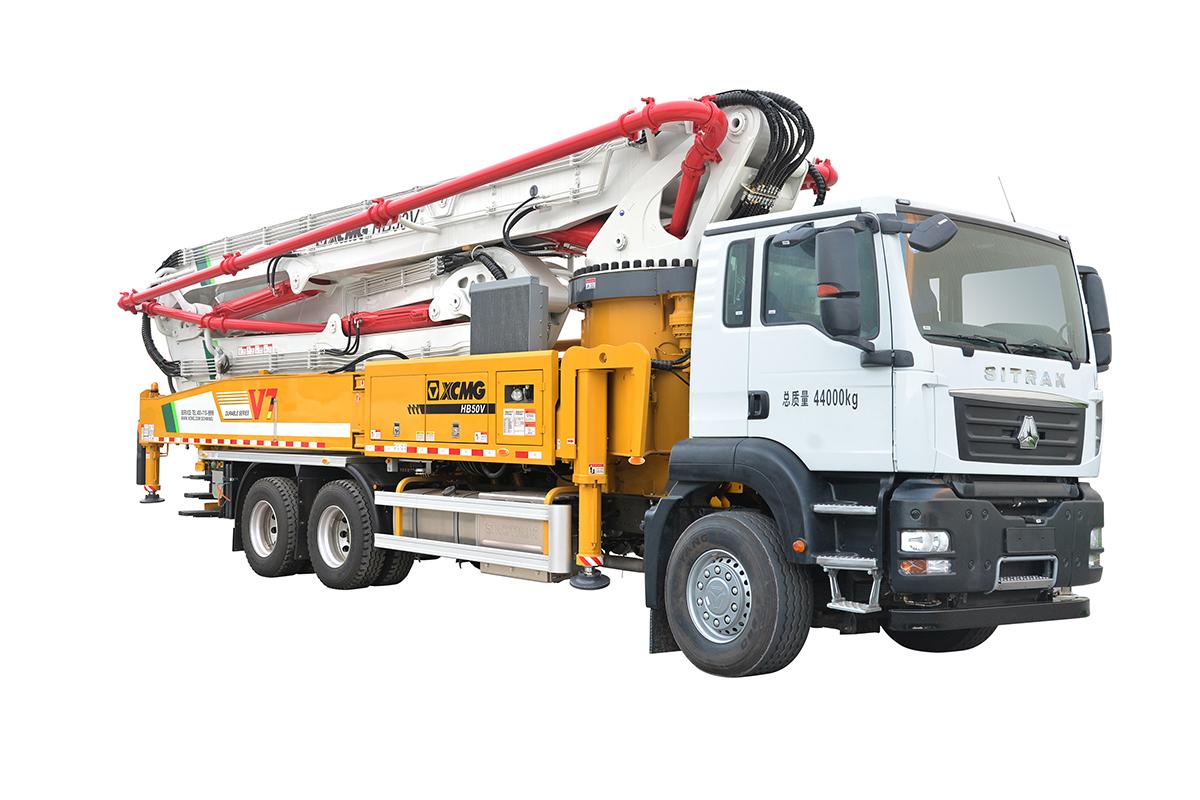 施维英HB50V(汕德卡)泵车高清图 - 外观