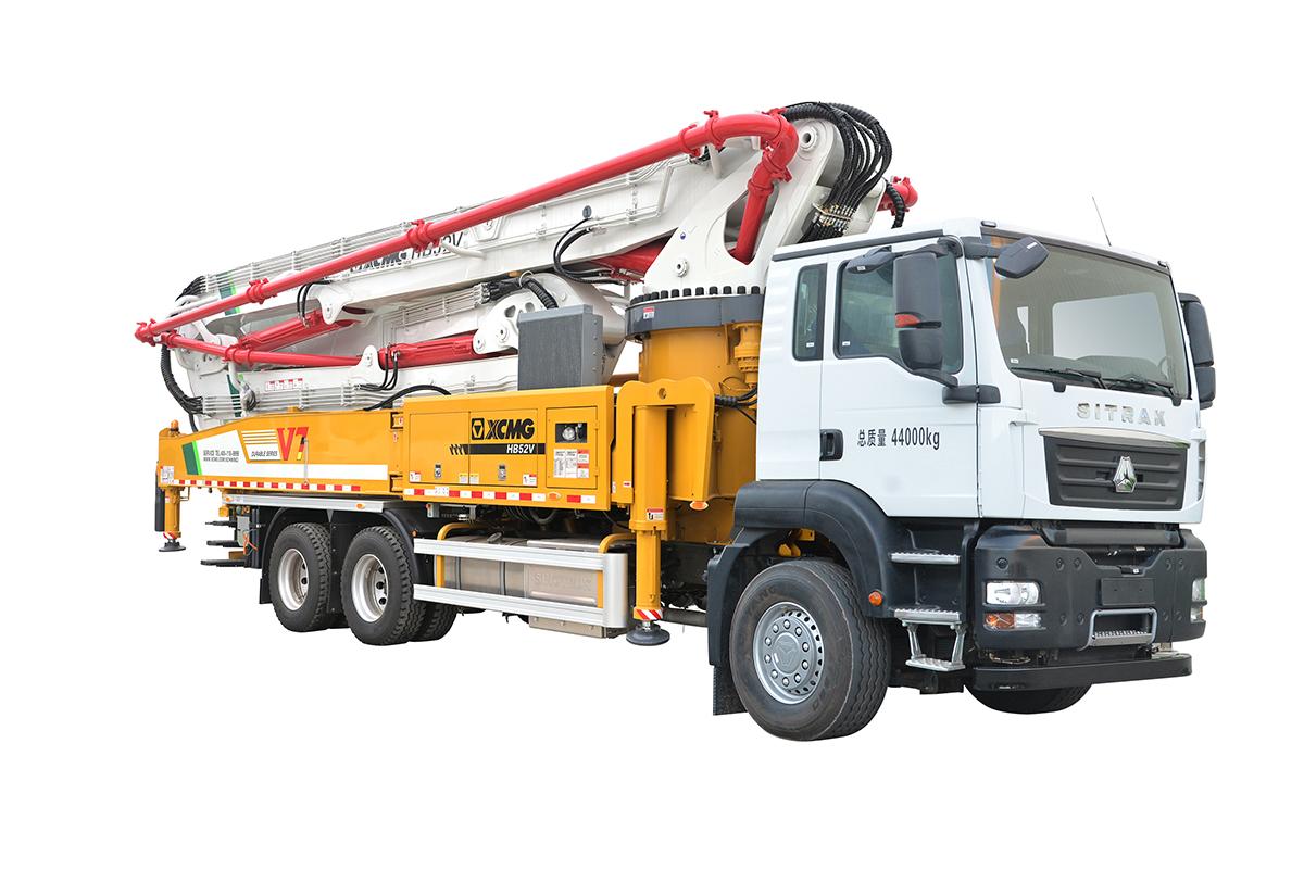 施维英HB52V(汕德卡)泵车高清图 - 外观