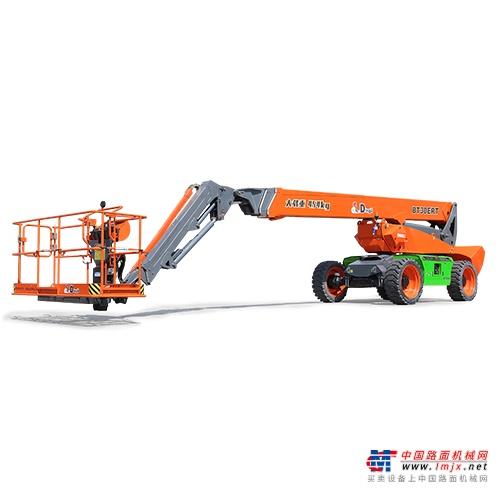 鼎力BT28ERT自行走直臂式高空作业平台(电池驱动)高清图 - 外观