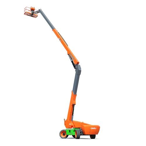 鼎力BA28ERT自行走曲臂式高空作业平台(电池驱动)