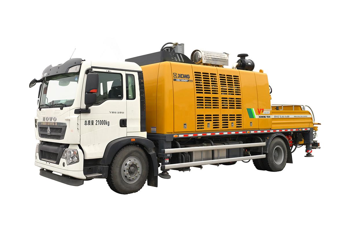 施维英XZJ5210THB车载泵高清图 - 外观