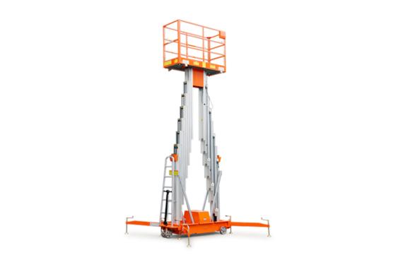 鼎力GTWY14-2100移动桅柱式高空作业平台(双桅)