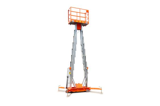 鼎力GTWY9.5-2100移动桅柱式高空作业平台(双桅)
