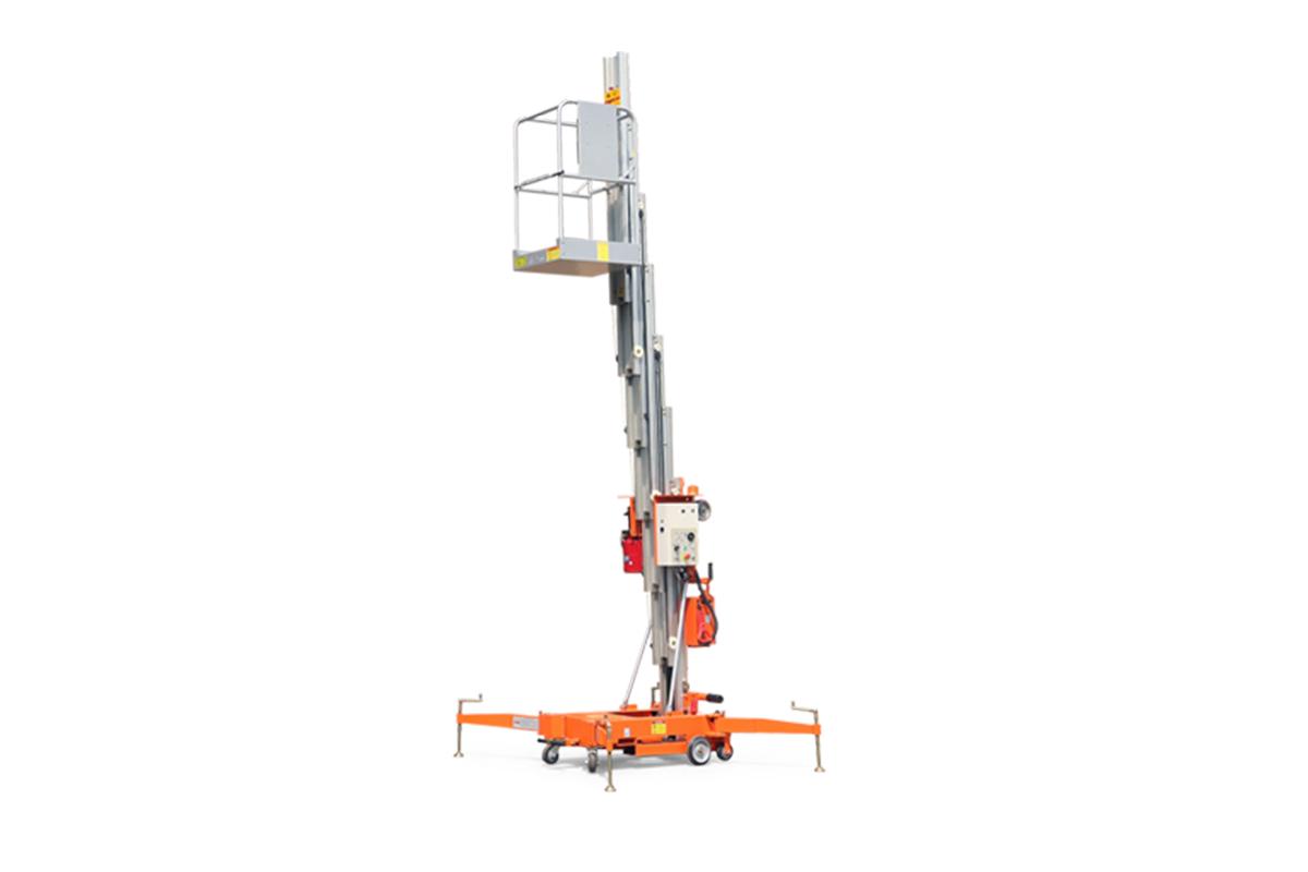 鼎力GTWY9.5-1300移動桅柱式高空作業平臺(旋腿式)高清圖 - 外觀