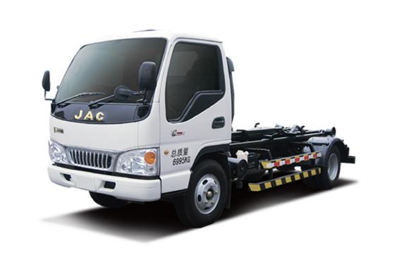 中联重科ZLJ5070ZXXHFE5车厢可卸式垃圾车(收集)