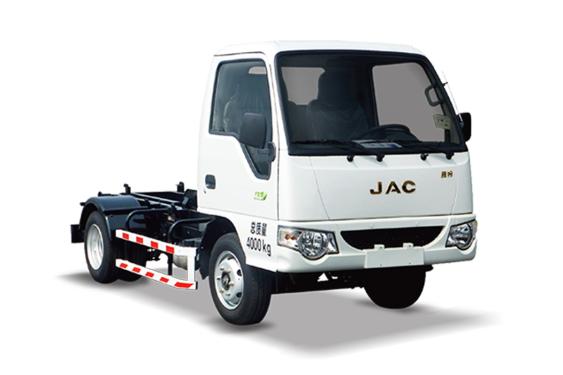 中联重科ZLJ5040ZXXHFE5车厢可卸式垃圾车(收集)
