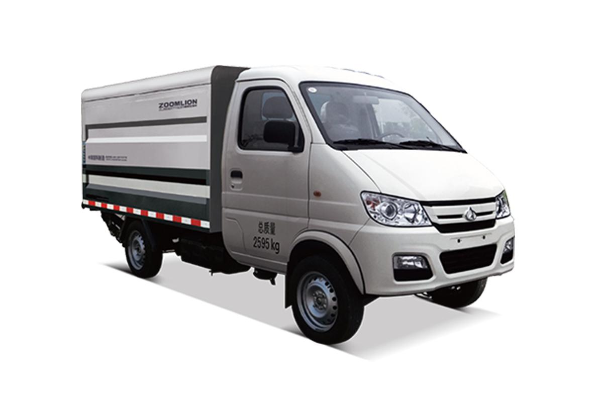 中联重科ZLJ5030XTYSCE5桶装垃圾车高清图 - 外观