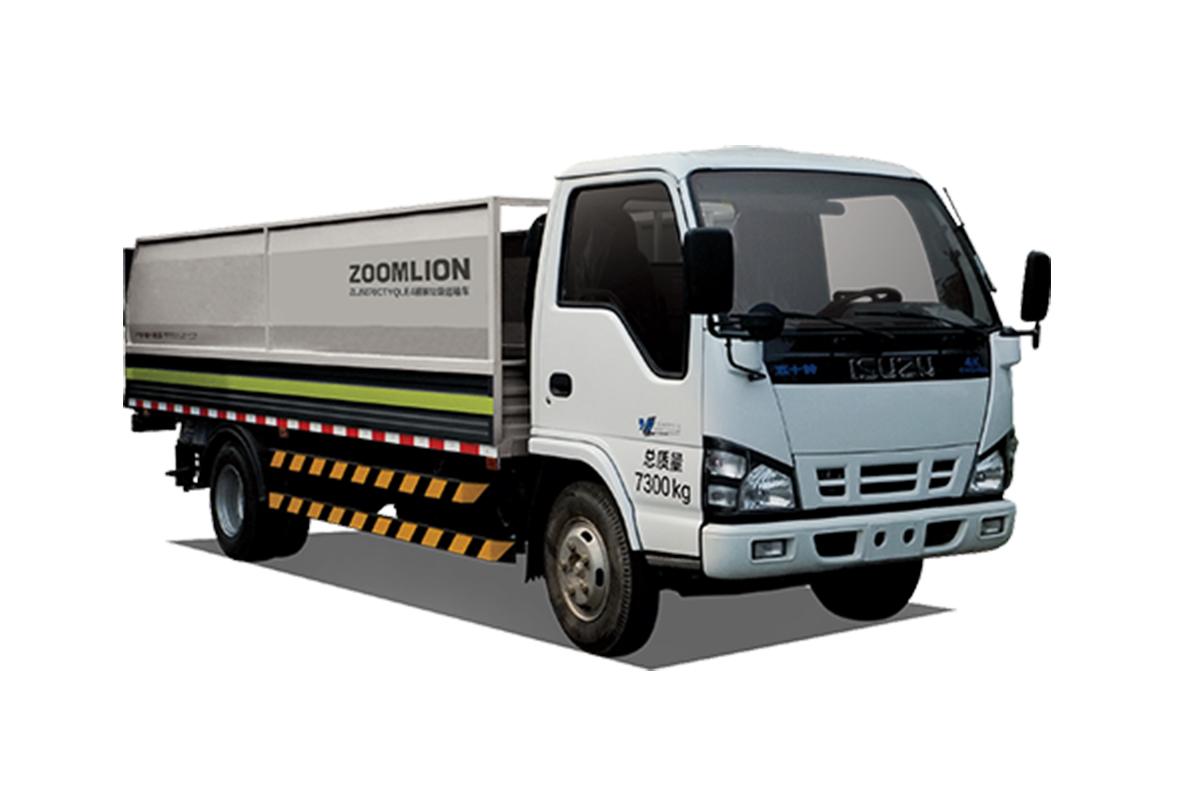中联重科ZLJ5070CTYQLE5桶装垃圾车高清图 - 外观