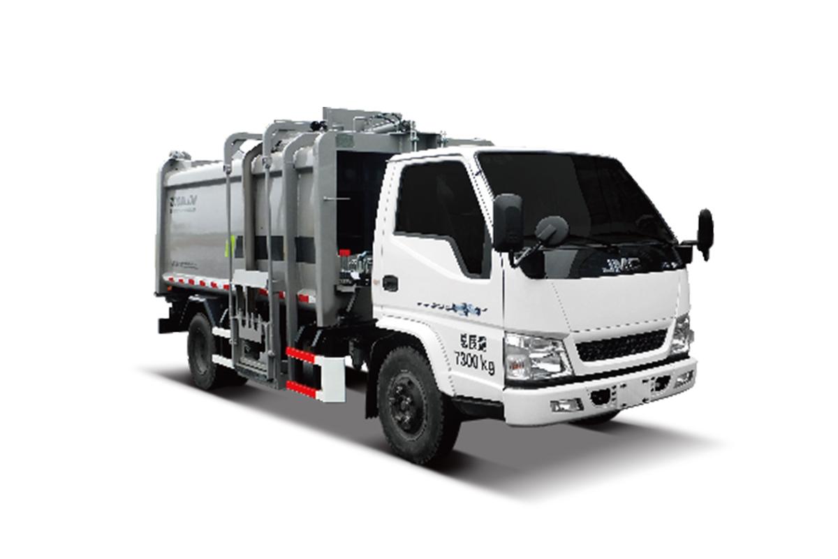 中联重科ZBH5073ZYSJXY5压缩式垃圾车(侧上料)高清图 - 外观