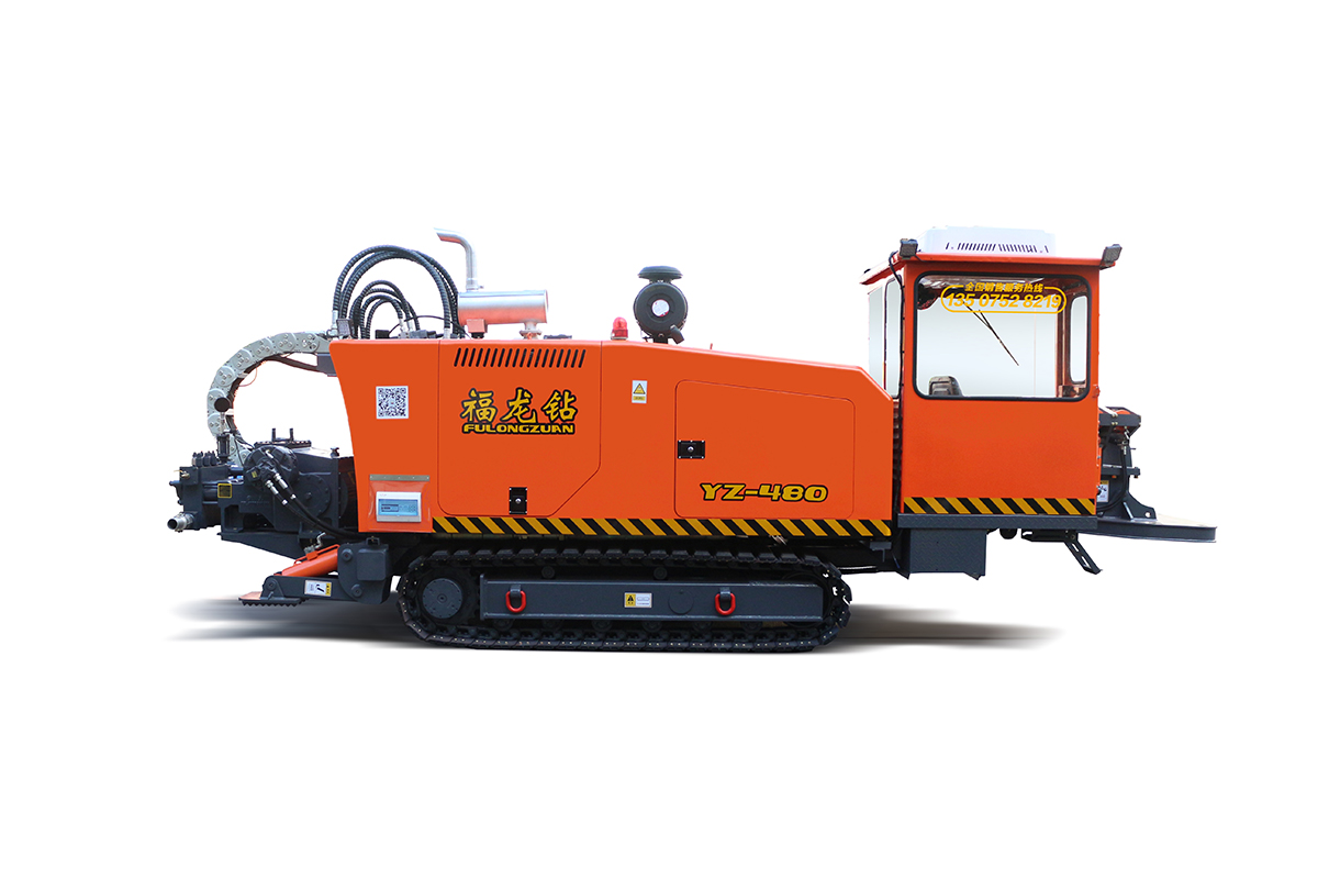 福龍鉆YZ-480非開挖鋪管鉆機高清圖 - 外觀