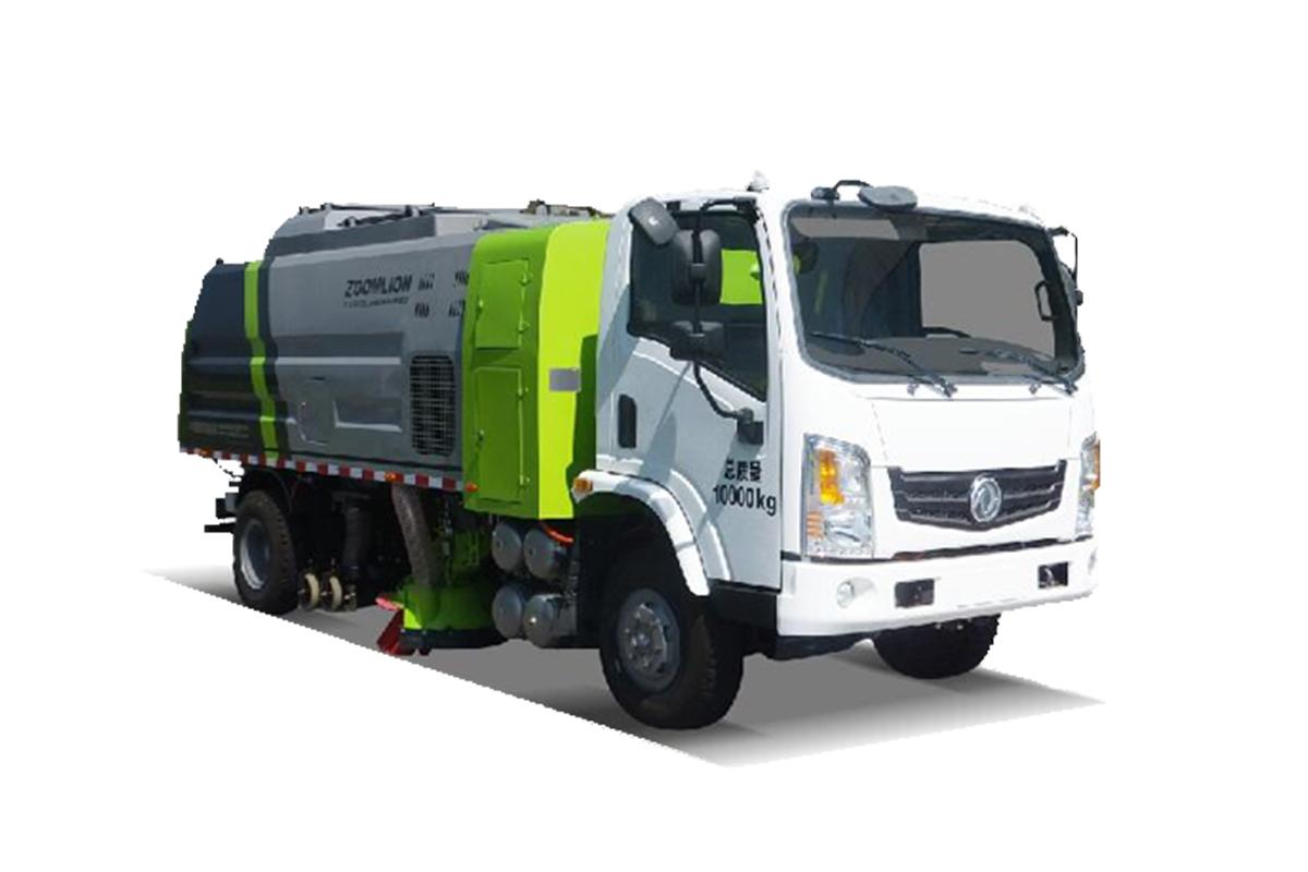 中联重科ZLJ5104TSLEQBEV干式扫路车高清图 - 外观