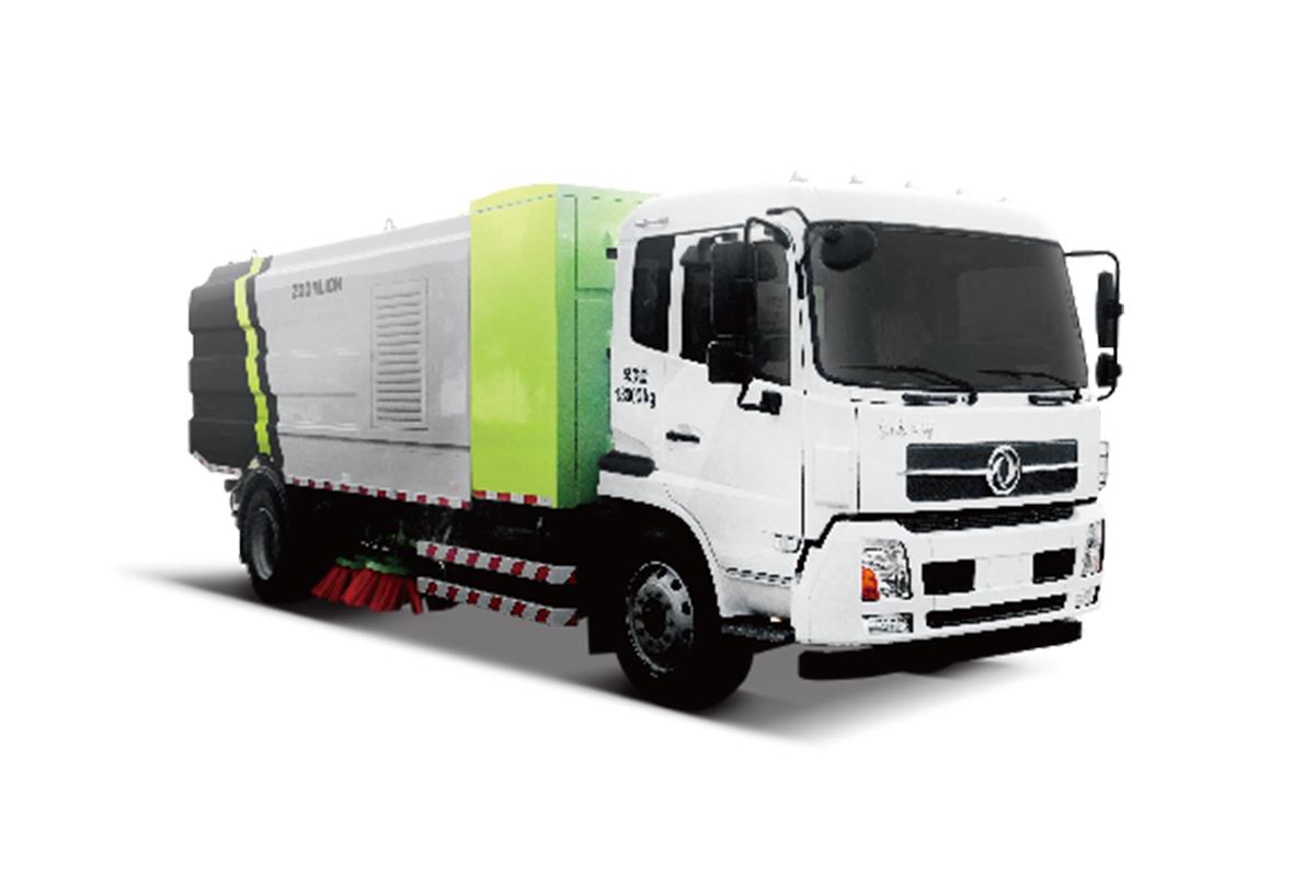 中联重科ZBH5183TSLEQABEV湿式扫路车高清图 - 外观