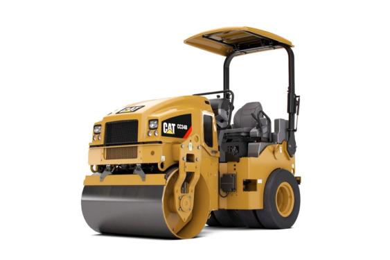卡特彼勒CAT®CC34B双钢轮振动压路机
