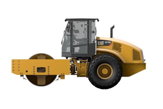 卡特彼勒CS78B单钢轮振动压路机