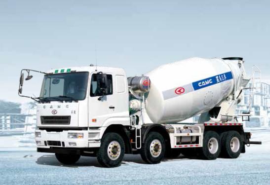 星马AH5310GJB6L58×4 系列 混凝土搅拌车