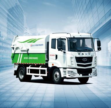 星马AH5250ZDJ0L5压缩式对接垃圾车