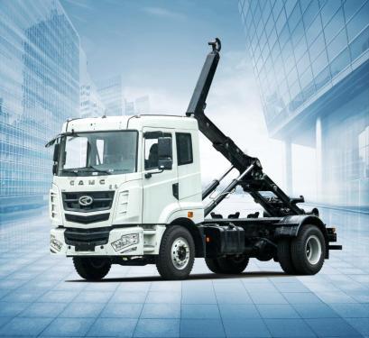 星马AH5250ZDJ0L5车厢可卸式垃圾车(拉臂式)