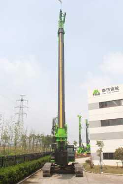 泰信机械KR285C旋挖钻机高清图 - 外观