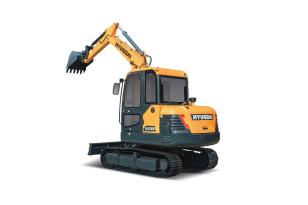 现代重工HX55挖掘机