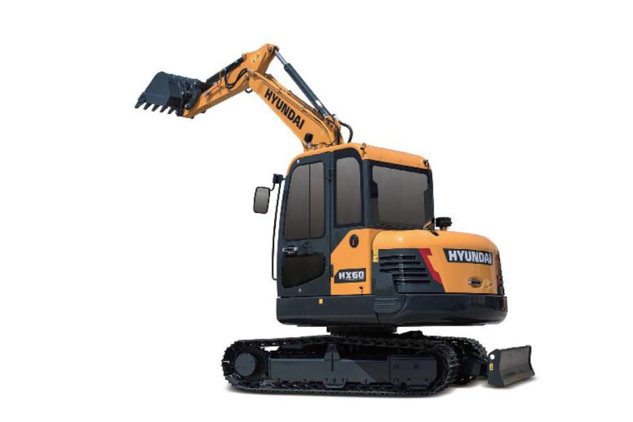 现代重工HX60挖掘机