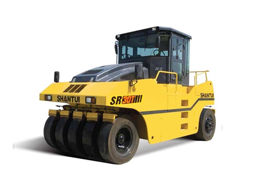 山推SR30T轮胎压路机