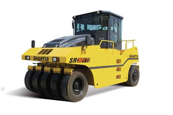 山推SR30YT轮胎压路机