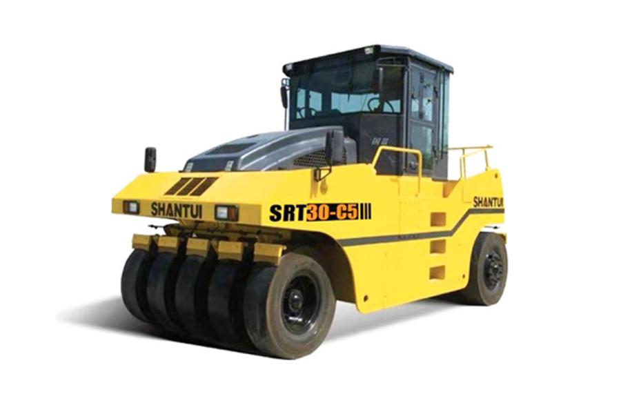 山推SRT30-C5轮胎压路机