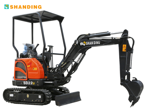 山鼎机械SD22U(尊贵型)小型挖掘机