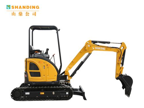 山鼎机械SD25U小型履带挖掘机