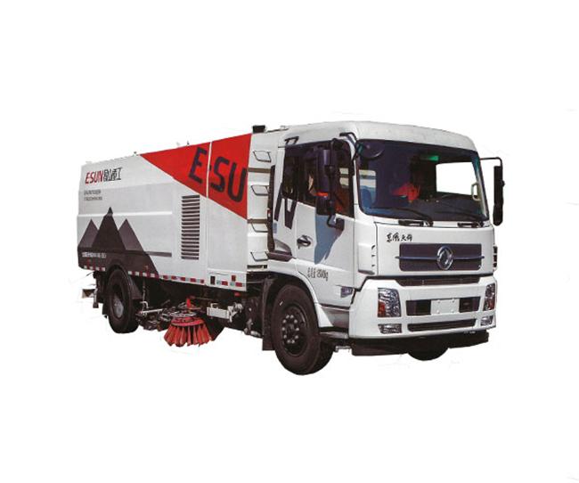 易山重工ESN5180TXSE618吨大型洗扫车_国六东风底盘高清图 - 外观