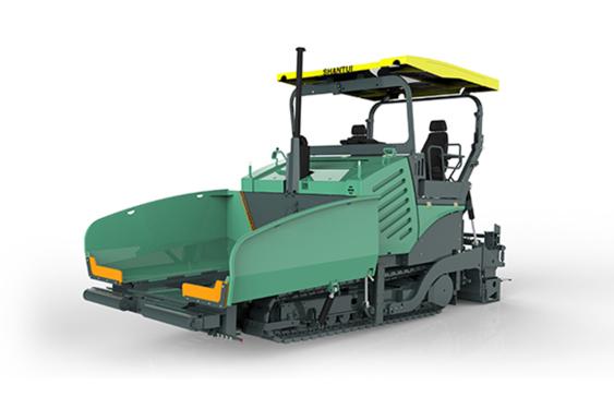 山推SRP09-C5(MA机械拼装版)沥青摊铺机高清图 - 外观