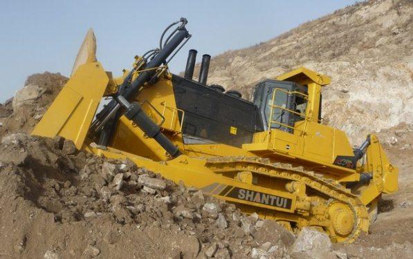 山推SD90-5标准型推土机高清图 - 外观