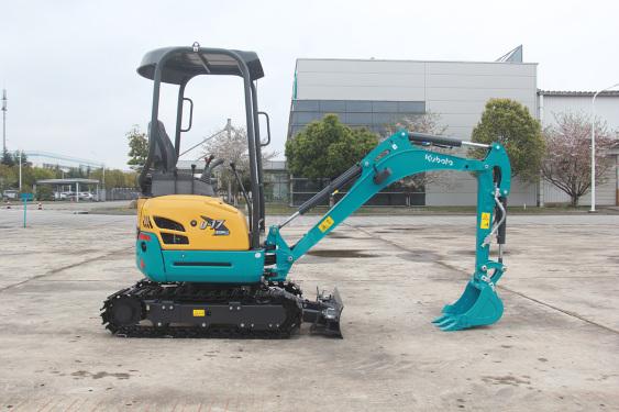 久保田U30-5小型挖掘机高清图 - 外观