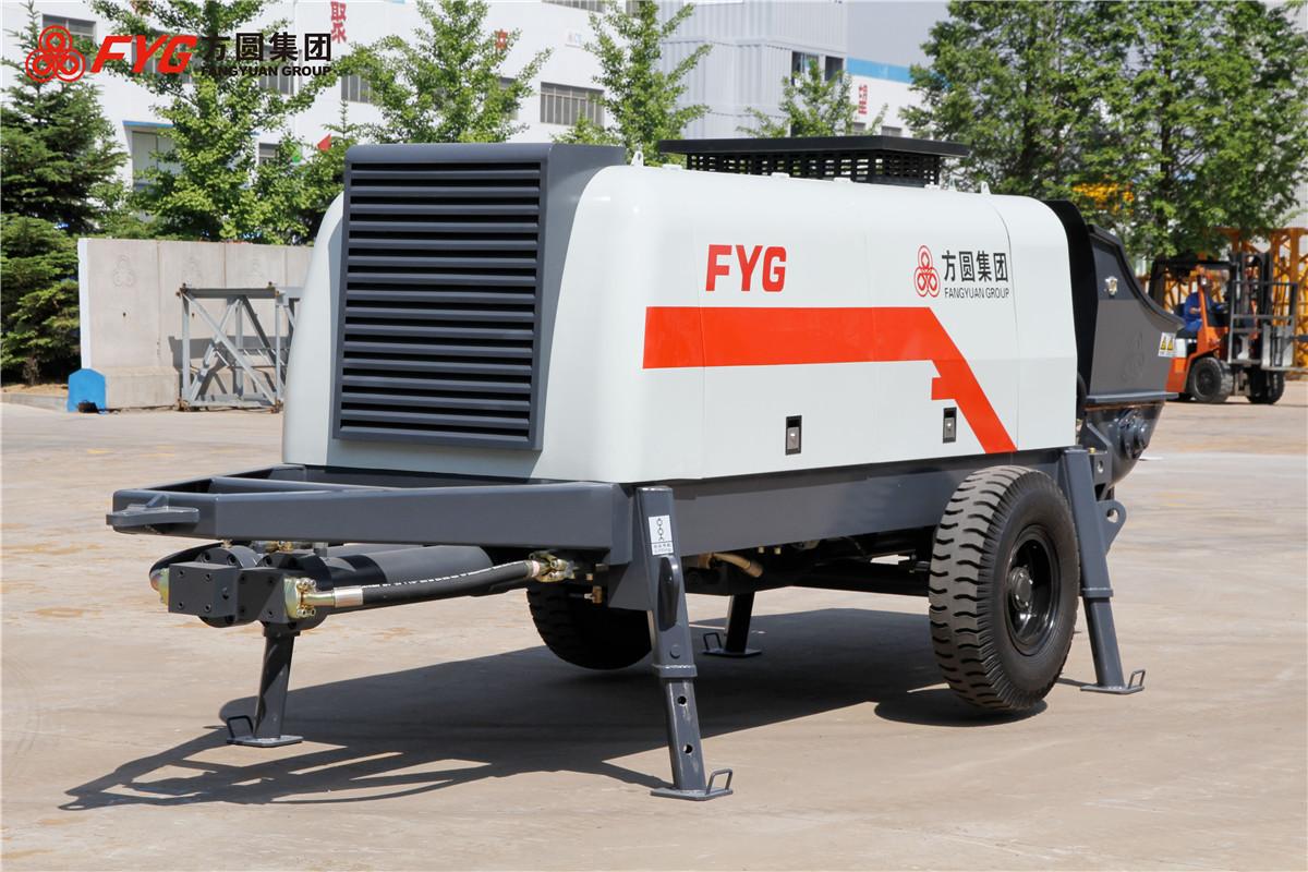 方圆HBTS80-16-195拖泵高清图 - 外观