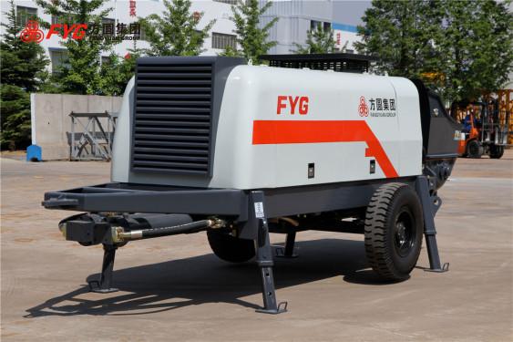 方圆HBTS60-13-90混凝土拖泵