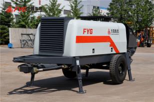 方圆HBTS系列柴油机混凝土拖泵