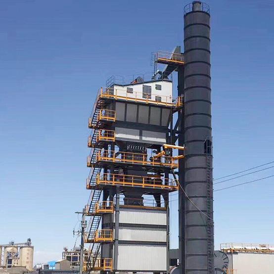 佰特2500型环保厂房式沥青搅拌站高清图 - 外观