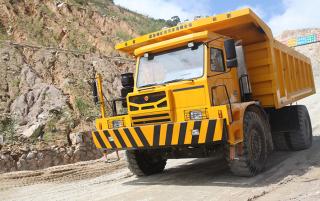固尔特70吨级—GT3700矿用自卸车