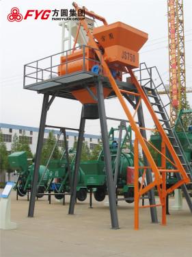 方圆JS750-3.8米混凝土搅拌机