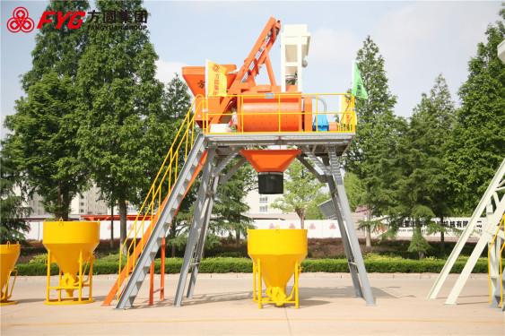 方圆JS750-2.7米混凝土搅拌机