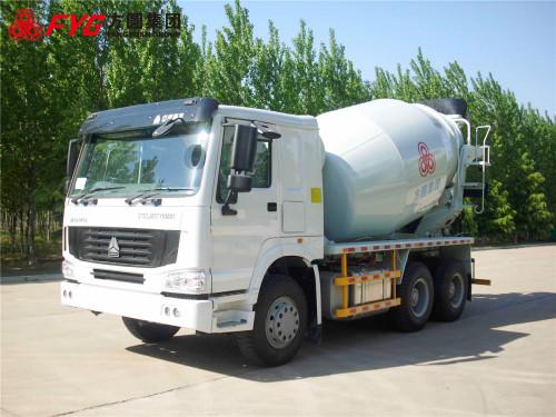 方圆FYG5253GJBC出口专用搅拌运输车