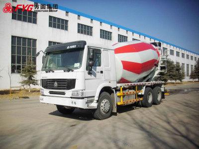 方圆FYG5254GJBC出口专用搅拌运输车