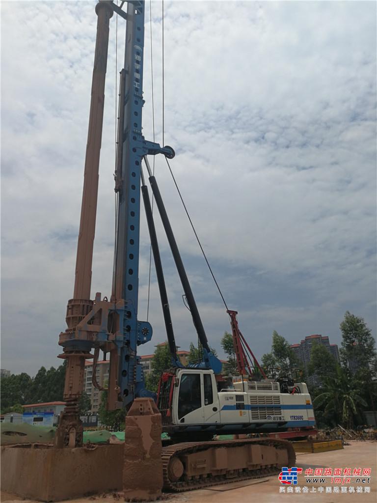 宇通重工YTR360C旋挖钻机高清图 - 外观