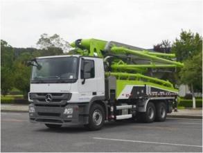 中联重科ZLJ5330THBBE 49X-6RZ泵车高清图 - 外观