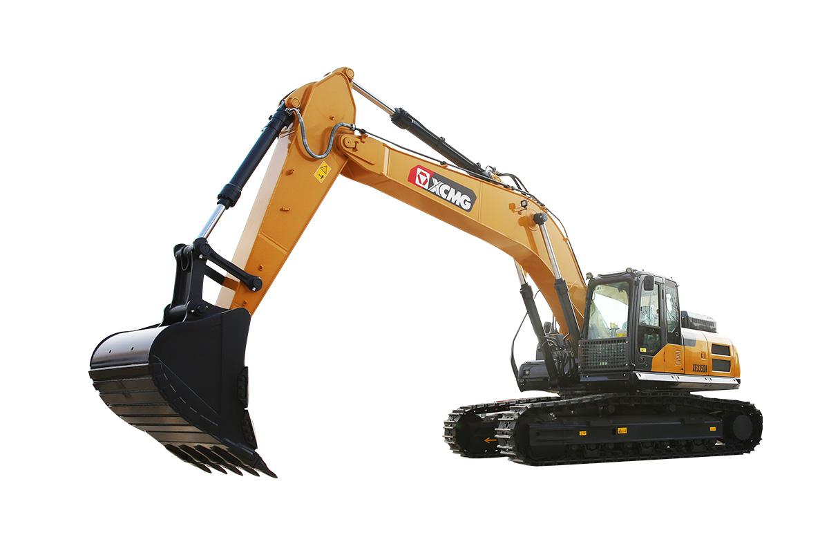 徐工XE335DK挖掘機高清圖 - 外觀